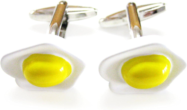 Chicken Egg Cufflinks