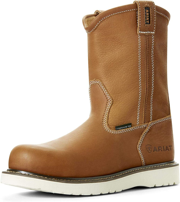 Ariat Work Men's Rebar Wedge Composite Toe Western Boot