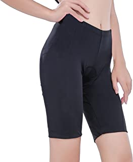 REEHUT Women Bike Shorts with 3D Padded for Cycling Women Ride Cycling Shorts, Breathable and Lightweight