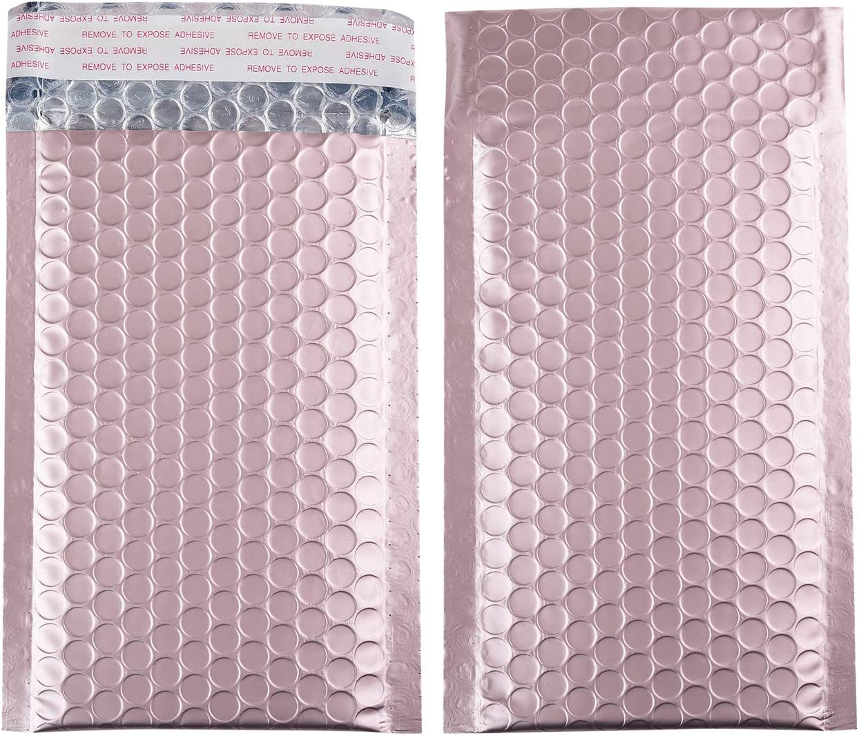 4x8 Inch Matte Max 49% OFF lowest price Metallic Bubble Mailers Lined Padded Self