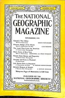 National Geographic Magazine, November, 1941 (Vol. 80, No. 5)