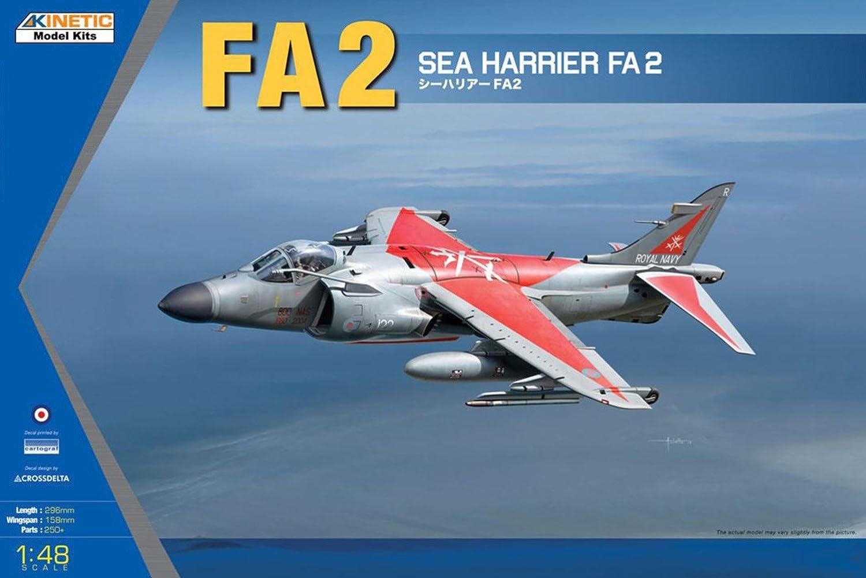 Kinetic K48041  Modellbausatz Harrier FA2