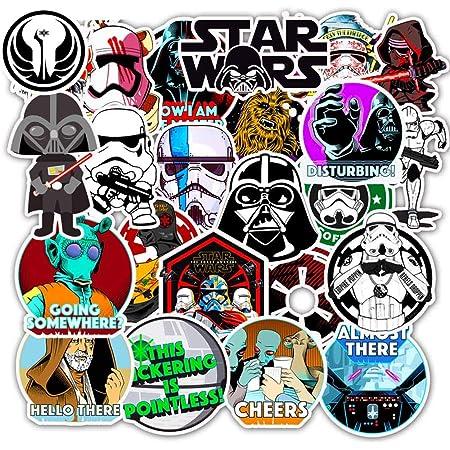 Star Wars Sticker Pack Luke /& Leia  Vinyl Sticker  Laptop Sticker  Water Bottle Sticker  iPad Sticker  Weather Proof Sticker