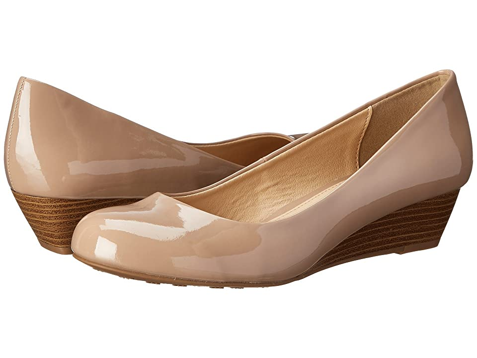 Dirty Laundry DL Marching Wedge Pump (New Nude) Women