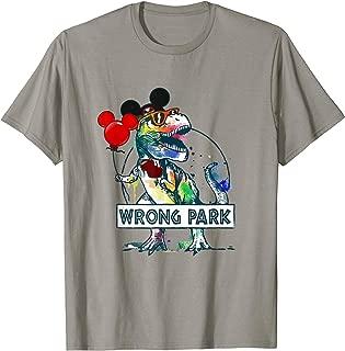 Best wrong park dinosaur shirt Reviews