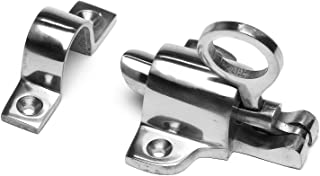 Carlisle Brass Round Keyhole Escutcheon 42mm dia Polished Chrome AQ41