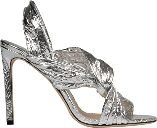 JIMMY CHOO Luxury Fashion Womens LALIA100TFCSILVER Silver Heels | Spring Summer 19
