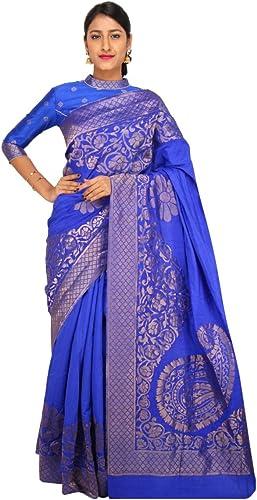 ventas en linea Ashika VIVANA VIVANA VIVANA Designer SAREE-azul-SBW2078-MV-Raw Silk  ahorra hasta un 50%