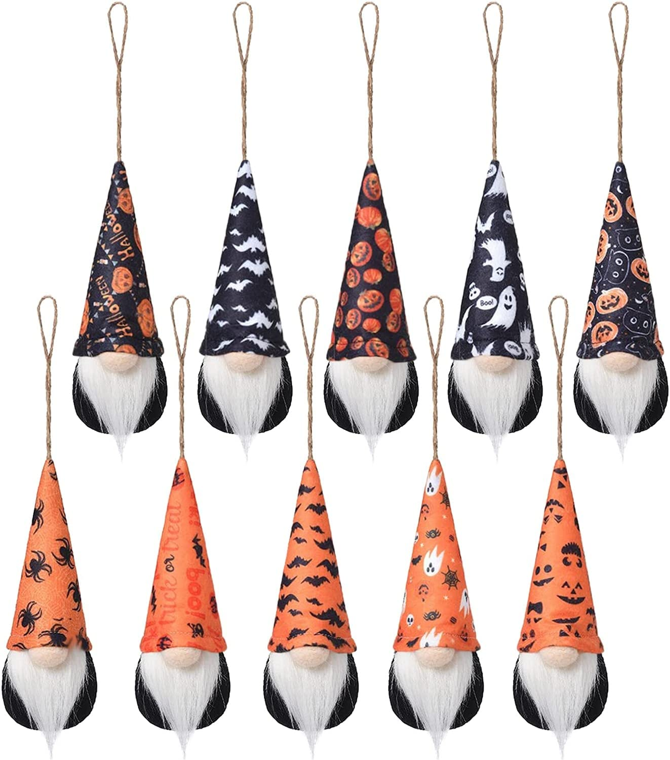 fvbhty Max 43% OFF 10PCS Halloween Faceless Gnome Overseas parallel import regular item Ornaments Cute Doll Easter