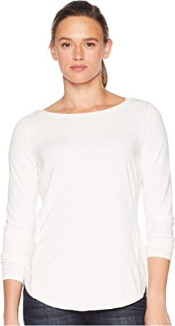 Yosemite Slub Boat Neck Long Sleeve