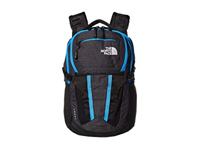 The North Face Recon (TNF Black Light Directional Heather/Clear Lake Blue) Backpack Bags
