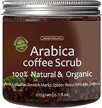 Jadole Naturals Organic Arabica Coffee Scrub, 250g / 8.8 oz