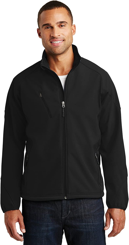 Port Authority Textured Soft Shell Jacket. J705