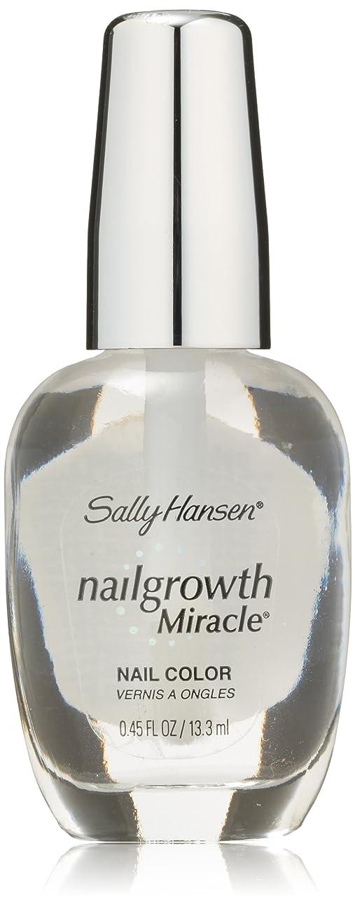 ファンド正当化する歌SALLY HANSEN NAIL GROWTH MIRACLE NAIL COLOR #110 CLEAR