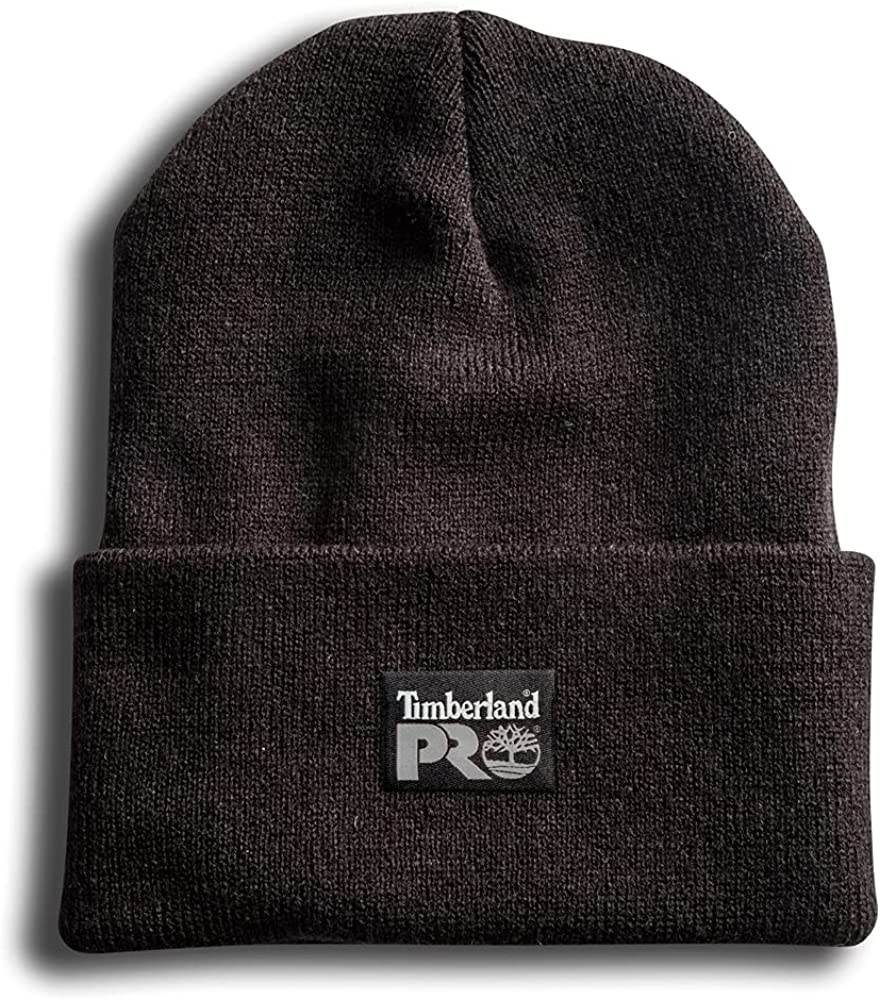 Timberland PRO Men's Watch Cap, Jet Black, One Size Fits All at  Men's Clothing store