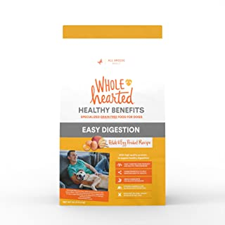 WholeHearted Grain Free Healthy Benefits Easy Digestion Potato and Egg Product Recipe Dry Dog Food