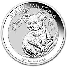 2019 AU Australian Koala Coin from the Perth Mint One Ounce .999 Fine Silver Dollar Uncirculated Mint
