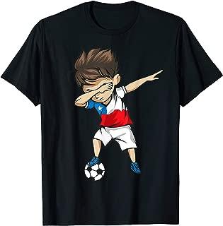 Dabbing Soccer Boy Chile Jersey Shirt - Chilean Football