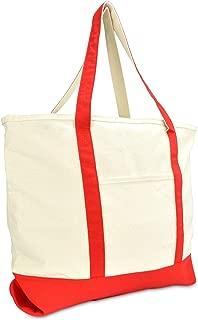 large cotton beach bag