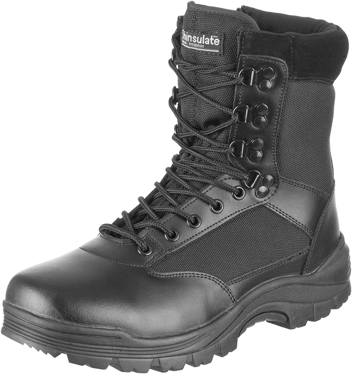 Mil-Tec Tactical Side Zip Fees free Sale Special Price Boots 10 US Size Black