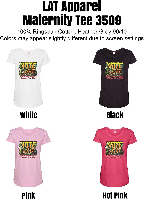 HARD EDGE DESIGN Women's Vote for Your Life T-Shirt