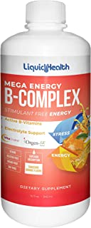 Sponsored Ad - Liquid Health Mega Energy B-Complex B Vitamins