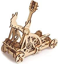 Wood Trick Catapult Wooden Model Kit to Build - Build Your Own Wooden Catapult - 3D Wooden Puzzle