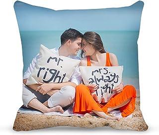 Almohada personalizada, funda de almohada con relleno de alm