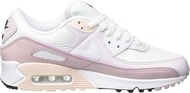 Amazon.com   Nike Air Max 90 Women Light Violet Champagne CV8819 ...