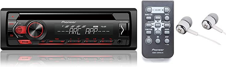 Pioneer Single Din In-Dash CD/CD-R/Rw, MP3/Wma/Wav Am/FM Front USB/Auxiliary Input..