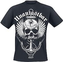 Onantastbaar Nie Wieder Vallen T-shirt met rugdruk...