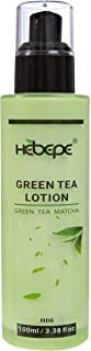 Hebepe Green Tea Matcha Hand and Body Lotion, with Hyaluronic Acid, Vitamin C, Vitamin E, Marsh Mallow, and...