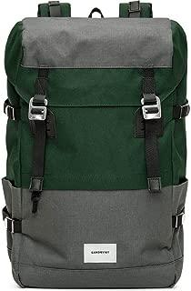 Sandqvist Harald Backpack | Multi Green/Dark Grey