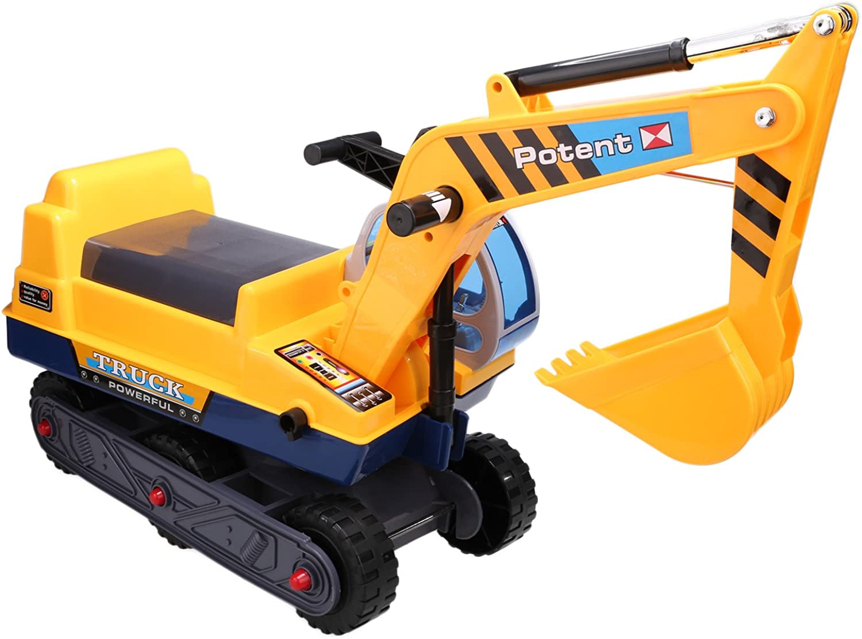 Smibie Sitzbagger Kinder Spielzeug Caterpillar Bagger LKW Spielzeug Sandbagger für Kinder mit Schaufel Arm Claw B073RDCZKD Hervorragende Eigenschaften | Discount