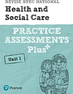 Revise BTEC National Health and Social Care Unit 1 Practice Assessments Plus