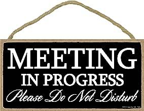 Best meeting in progress please do not disturb Reviews