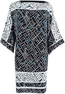 Lauren Women's Geometric-Print Shift Dress