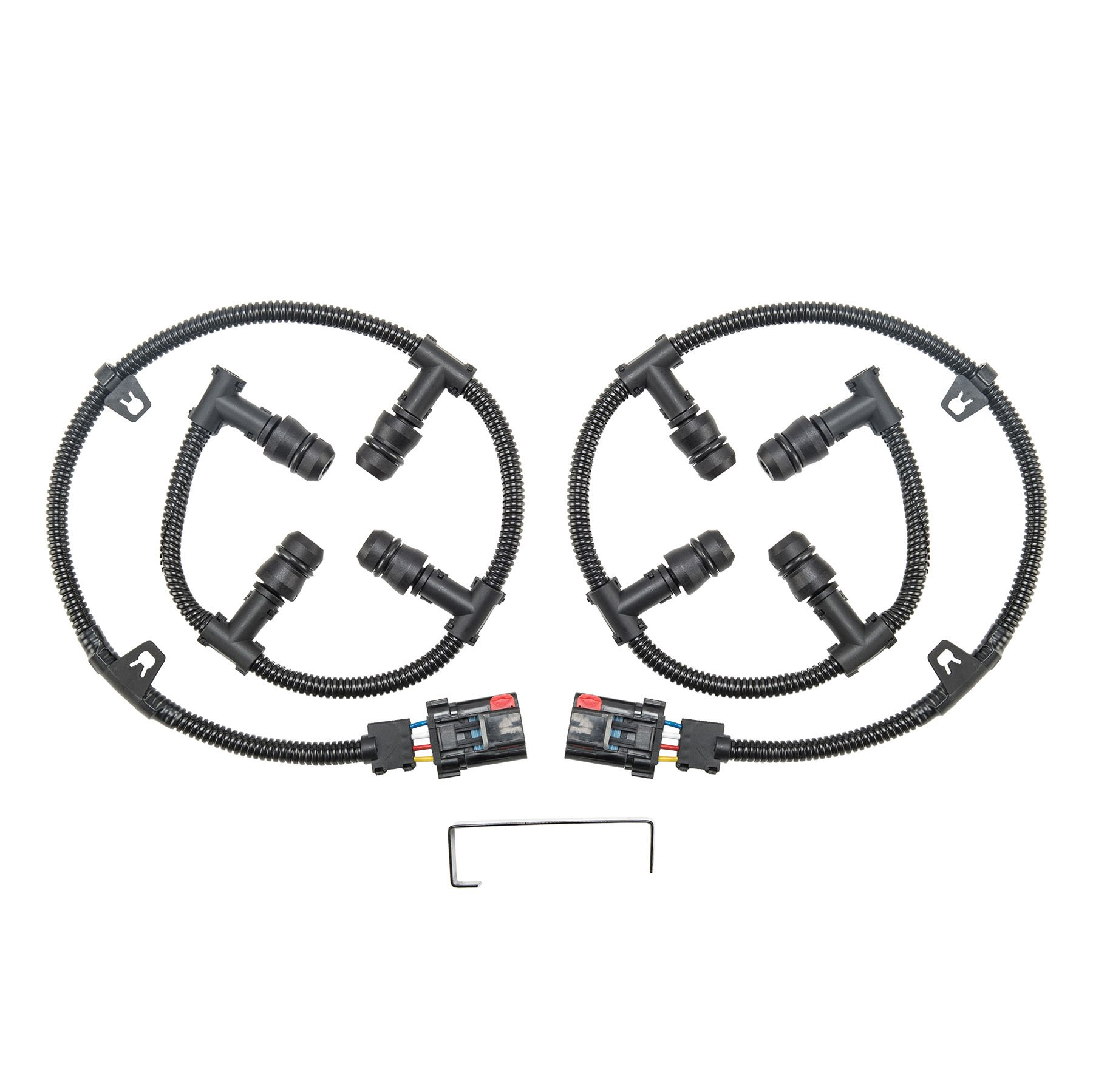 engine wire harness amazon com 98 Chevy Wiring Harness Diagram ford 6 0 glow plug connector wire harness kit (left \u0026 right) with removal tool