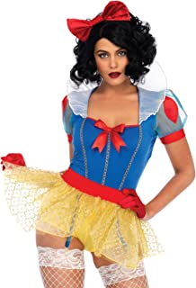Women's Sexy Miss Snow White Halloween Costume, Multi