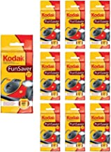 10x Kodak Disposable Camera FunSaver Flash 35mm Film One Time Use