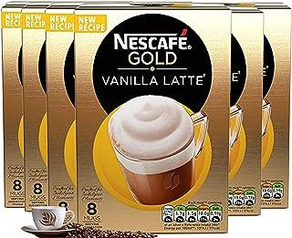 Nescafe Vanilla Latte 8 x 18.5g - Pack of 6