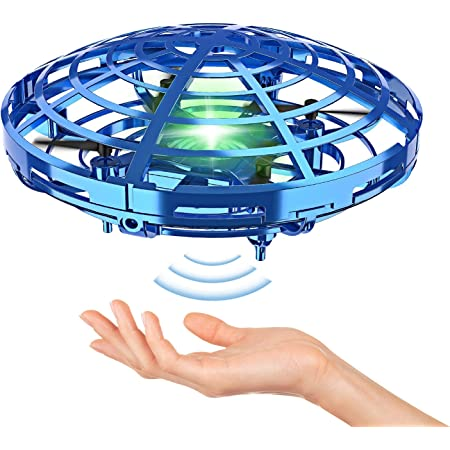 Details about  /Gyro UFO Ball LED Mini Induction Suspension 3-in-1 Handheld Gyroscope Flying