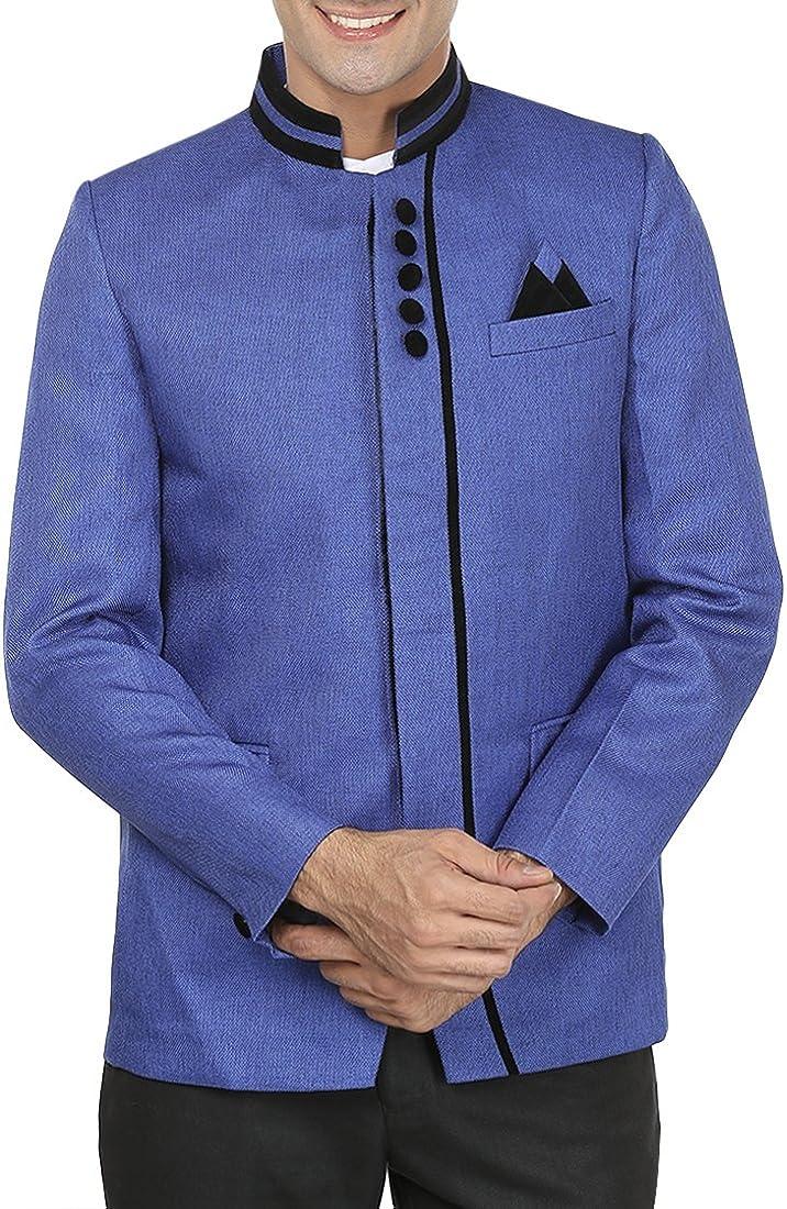 Omaha Mall WINTAGE Men's Rayon Party Nehru - Three Cheap sale Mandarin Blazer Colors