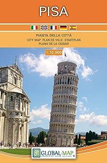 LAC  Pianta della Citta Pisa 1:10 000: Stadtplan Pisa