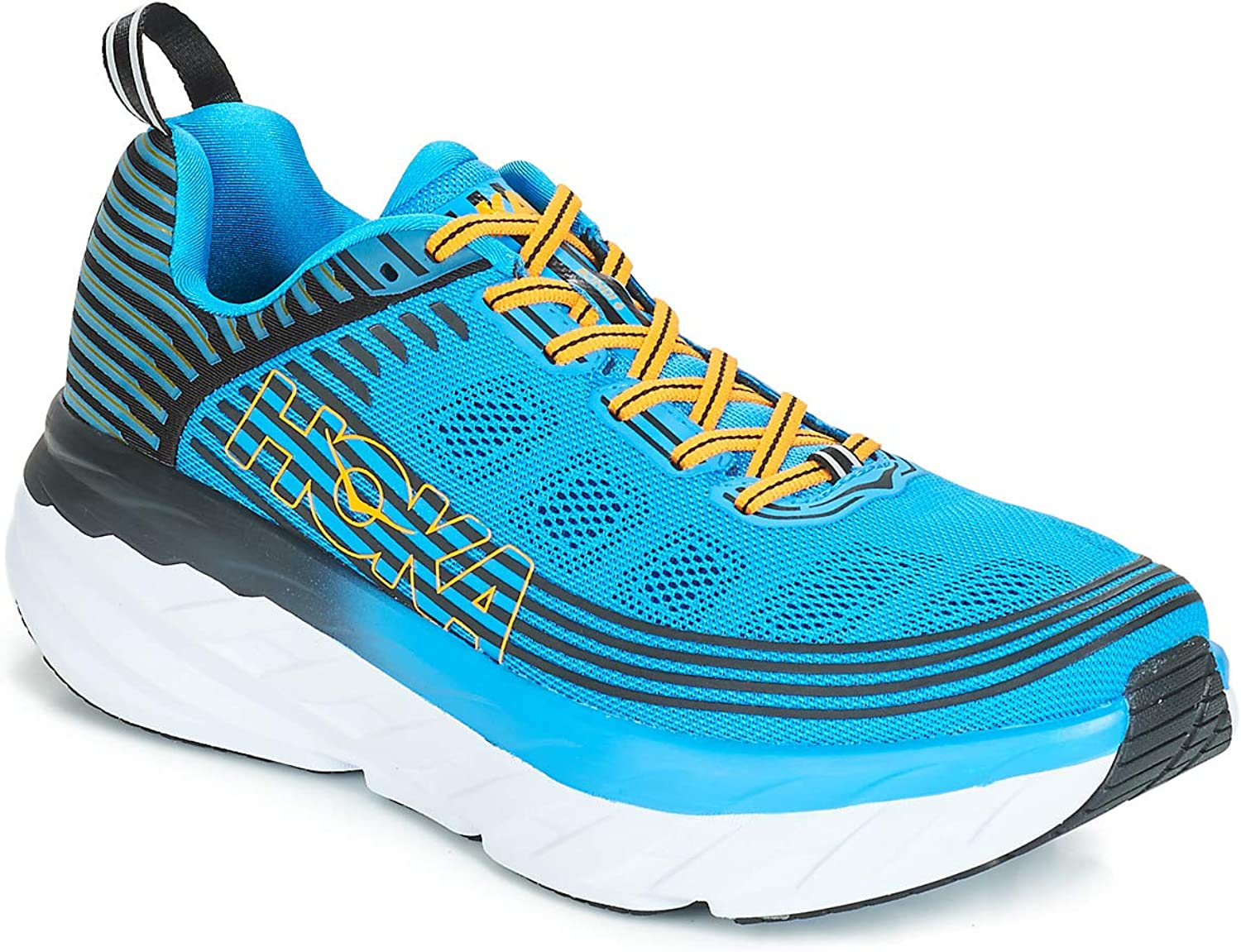 Hoka One One Bondi Bondi Bondi 6 Running Shoes Men Dresden Blue/Black 2019 Laufsport Schuhe B07DDLSF5M  f05cf5