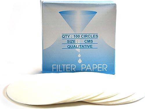 Premium Filter Paper, 15cm, Pack of 100