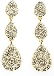 triple teardrop earrings