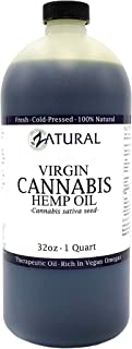 Zatural Hemp Oil- 100% Pure_No Fillers Or Additives, Therapeutic Grade 32 Ounce 1