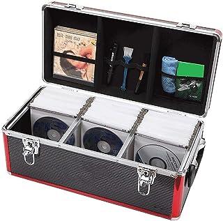 GWXJZ Estanterías para CD DVD Caja de Almacenamiento de CD Tenedor cómico del Organizador del Disco de Vinilo del DVD, Caj...