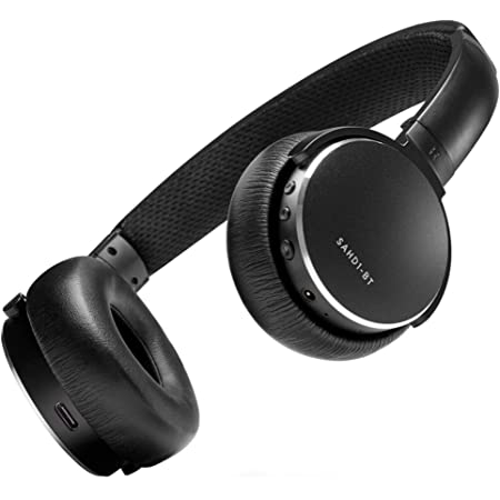 Status Audio BT One Wireless On-Ear Headphones - Bluetooth 5.0. + aptX, 30 Hours of Battery, USB-C + Quick Charge, Award Winning Sound + Minimalist Metal Design, Matte Finish (JetBlack)
